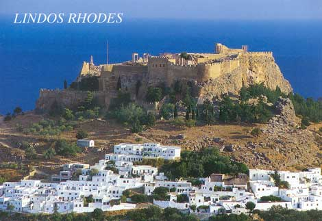photo of lindos