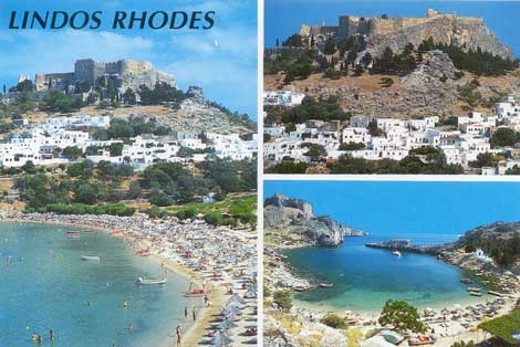 lindos is wonderful